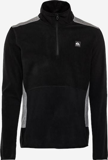 QUIKSILVER Sportovní svetr 'AKER' - šedý melír / černá / bílá, Produkt