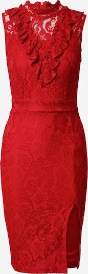 Skirt & Stiletto Kokerjurk 'Leah' in de kleur Rood, Productweergave