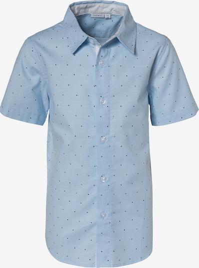 NAME IT Overhemd 'Hormel' in de kleur Lichtblauw / Zwart, Productweergave