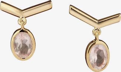 Carolin Stone Ohrringe in gold / rosé, Produktansicht