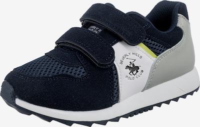 Beverly Hills Polo Club Sneaker in marine / gelb / grau / weiß, Produktansicht