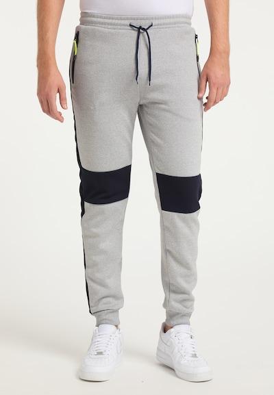 Mo SPORTS Kalhoty - noční modrá / šedý melír, Model/ka