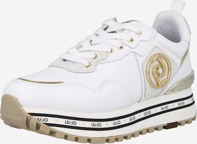 arany / fehér Liu Jo Rövid szárú edzőcipők 'MAXI WONDER', Termék nézet