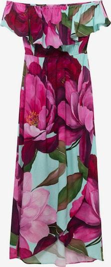 azúr / aranysárga / sötétzöld / ciklámen / rózsaszín Desigual Nyári ruhák 'ARLES', Termék nézet