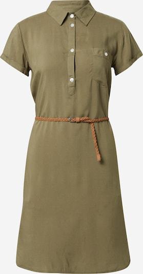 Eight2Nine Robe-chemise en olive, Vue avec produit