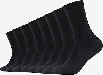 s.Oliver Socks 'Milano' in Black