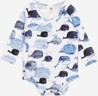 Walkiddy Body in rauchblau / hellblau / dunkelblau / weiß, Produktansicht