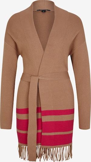 COMMA Adīta jaka kamieļkrāsas / tumši rozā, Preces skats