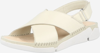 CLARKS Sandale 'Tri Alexia' in wollweiß, Produktansicht
