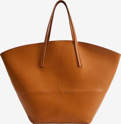 MANGO Nákupní taška 'KOBE' - koňaková, Produkt