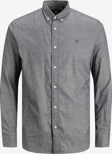 JACK & JONES Hemd 'Blaperfect' in graumeliert, Produktansicht