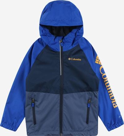 COLUMBIA Chaqueta de entretiempo 'Dalby' en azul / navy / azul paloma / amarillo oscuro, Vista del producto