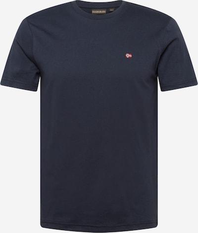 Tricou 'SALIS' NAPAPIJRI pe albastru / roșu, Vizualizare produs