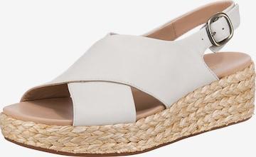 CLARKS Sandale 'Kimmei' in Weiß