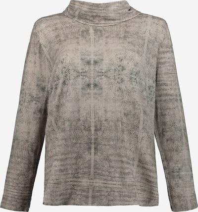 Ulla Popken Shirt in hellbraun: Frontalansicht