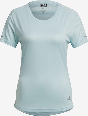 ADIDAS PERFORMANCE Performance Shirt 'Run It' in Green