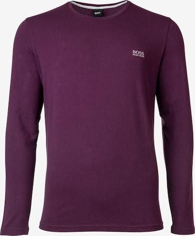 BOSS Casual T-Shirt en aubergine, Vue avec produit