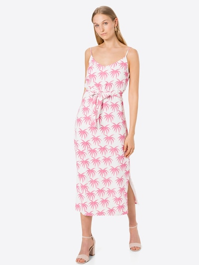 Fabienne Chapot Zomerjurk 'Sunset' in de kleur Pink / Wit, Modelweergave