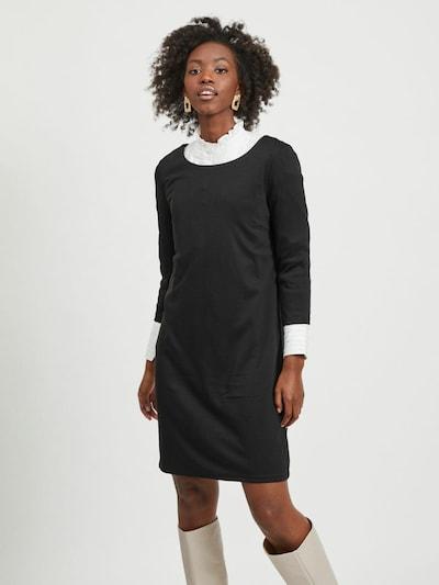 VILA Jurk 'Tinny' in de kleur Zwart, Modelweergave