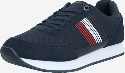 TOMMY HILFIGER Sneakers laag 'CORPORATE MAT' in de kleur Donkerblauw / Rood / Wit, Productweergave