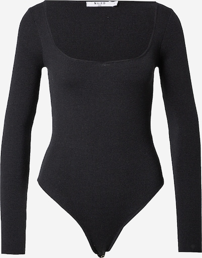 NA-KD Tričkové body - černá, Produkt