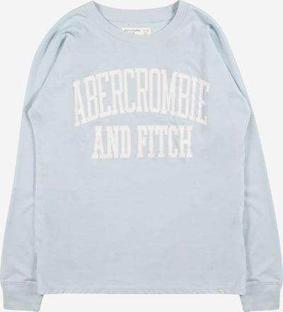 Abercrombie & Fitch T-Shirt en turquoise / blanc, Vue avec produit