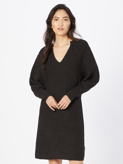 SOAKED IN LUXURY Kleid 'Lyrica' in schwarzmeliert, Modelansicht