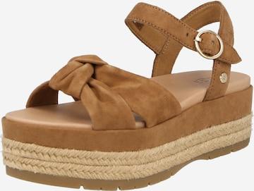 Sandale cu baretă 'TRISHA' de la UGG pe maro