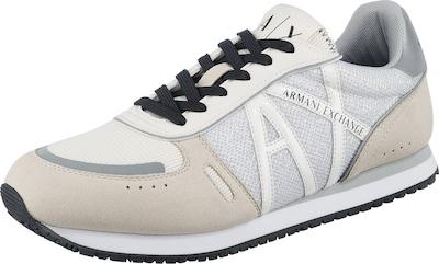 ARMANI EXCHANGE Sneakers Low in hellgrau, Produktansicht