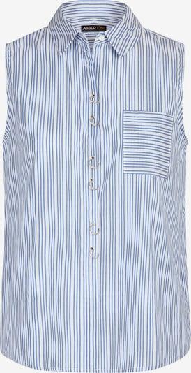 APART Modische Baumwoll Bluse in blau / hellblau, Produktansicht