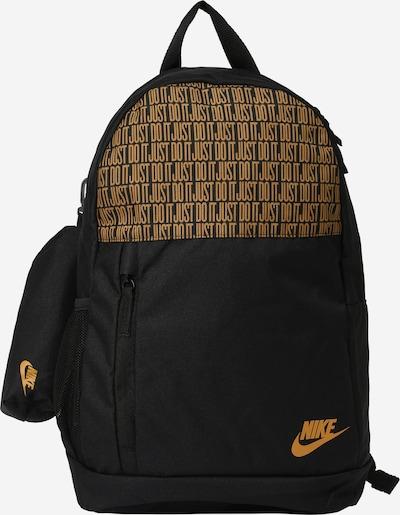Nike Sportswear Rygsæk i honning / sort, Produktvisning