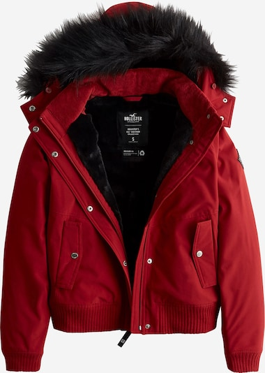HOLLISTER Winter jacket in red, Item view