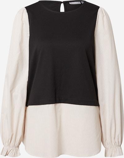 Bluză 'EBLENDA' Fransa pe negru / alb, Vizualizare produs
