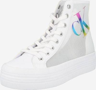 Calvin Klein Sneaker in blau / gelb / mischfarben / pink / weiß, Produktansicht