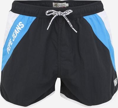Pepe Jeans Plavecké šortky 'TOMEO' - modrá / černá / bílá, Produkt