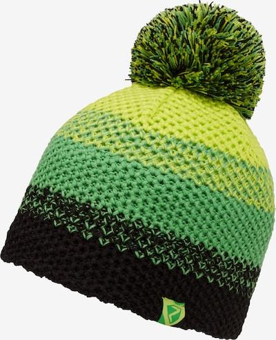 ZIENER Strickmütze 'ISHI JUNIOR' in grün / schwarz, Produktansicht