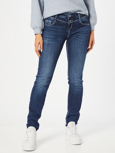 Soccx Jeans 'KA:RA' in blue denim, Modelansicht