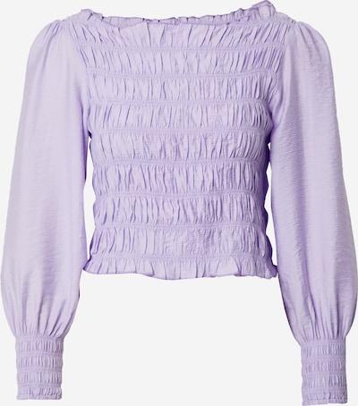 Y.A.S Petite Blouse 'SMOCKA' in de kleur Lavendel, Productweergave