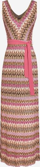 Ana Alcazar Kleid ' Cilsa ' in beige / braun / pink, Produktansicht