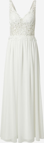 Rochie de seară 'HOT FIX LACE' de la mascara pe alb