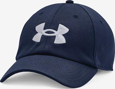 UNDER ARMOUR Sportpet 'Blitzing' in de kleur Donkerblauw / Wit, Productweergave