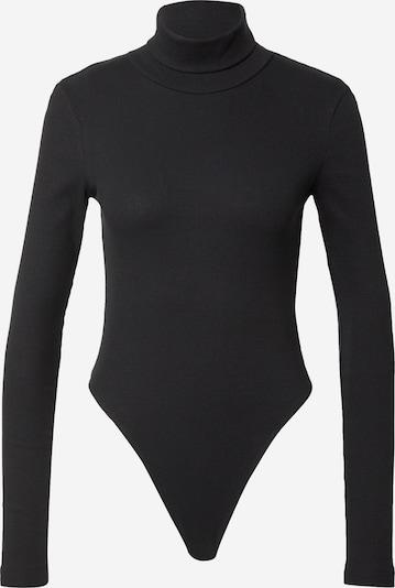 WEEKDAY Shirt body 'Verena' in de kleur Zwart, Productweergave