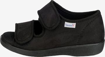 Varomed Slippers in Black