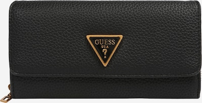 GUESS Wallet 'DOWNTOWN CHIC' in Gold / Black, Item view