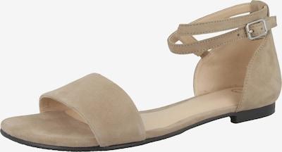 GERRY WEBER Sandale in dunkelbeige, Produktansicht