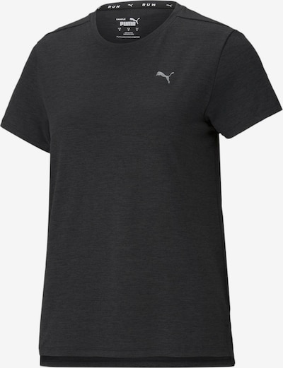 PUMA T-shirt fonctionnel 'Favourite Heather' en marine / argent, Vue avec produit