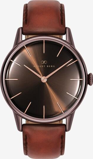 August Berg Uhr 'Serenity  32mm' in braun, Produktansicht