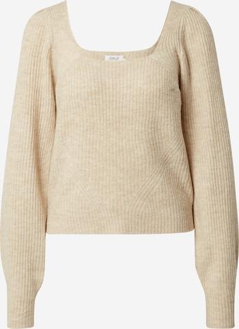 ONLY Pullover 'Karinna' in Beige