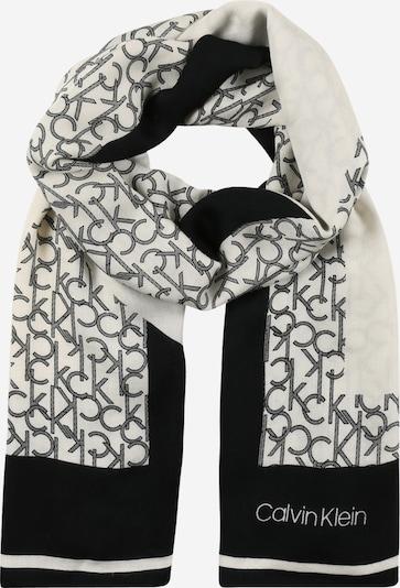 Calvin Klein Šála - černá / bílá, Produkt
