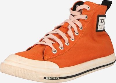 DIESEL Baskets hautes 'ASTICO' en orange foncé, Vue avec produit